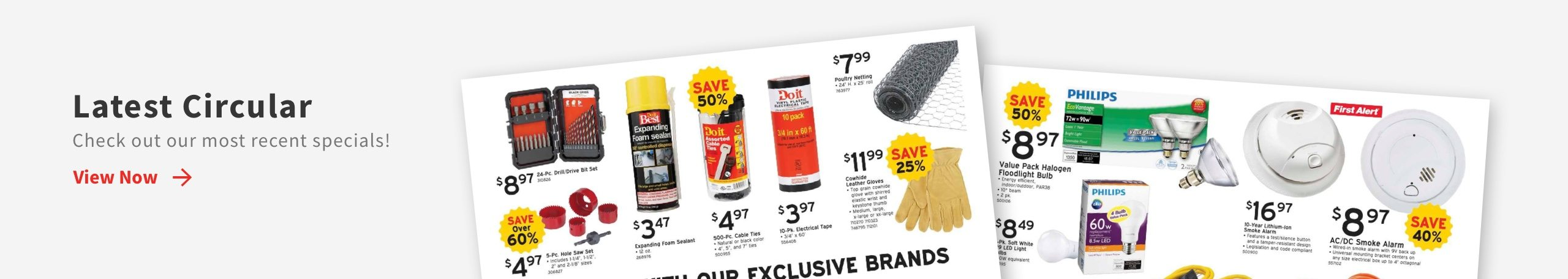Download the The latest ad from Heller's Hardware