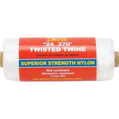 Do it #24 x 370 Ft. White Nylon Twisted Twine
