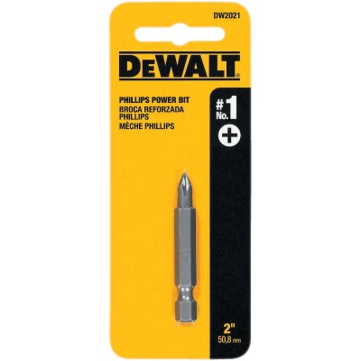 DeWalt Phillips #1 2 In. Power Screwdriver Bit