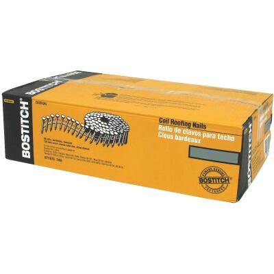 Bostitch 15 Degree Wire Weld Galvanized Coil Roofing Nail, 7/8 In. x .120 In. (7200 Ct.)