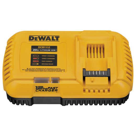 DeWalt 20 Volt MAX/FLEXVOLT Lithium-Ion 12 Amp Fast Battery Charger