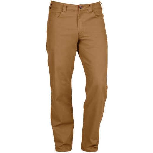 Milwaukee Flex Khaki 36 x 32 Heavy-Duty Work Pants